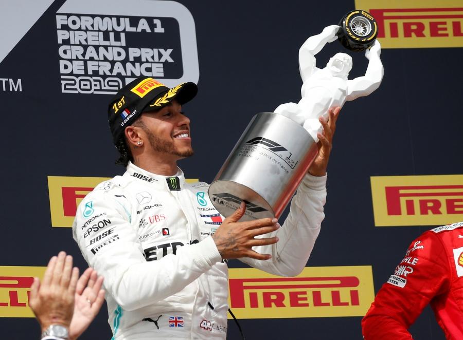 Fórmula 1: Hamilton gana GP de Francia con doblete de Mercedes