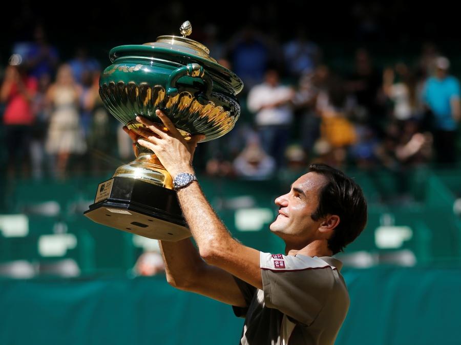 Roger Federer se corona por décima vez en el abierto de Halle