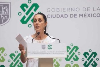 Jefa de Gobierno buscara poner normas antimonumentos