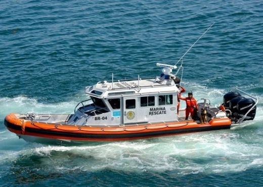 Marina rescata a seis pescadores a la deriva en Cozumel, Quintana Roo
