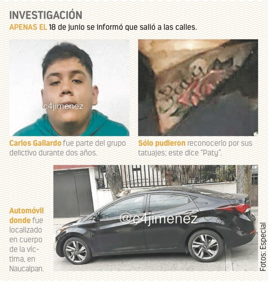 Encuentran muerto a El Carlos, sicario liberado