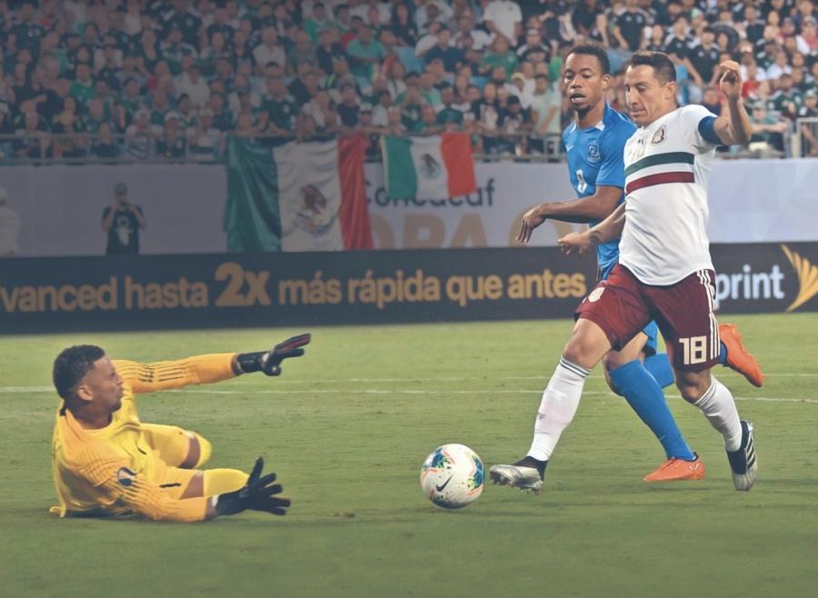 México sufre ante una Martinica que ni está en FIFA