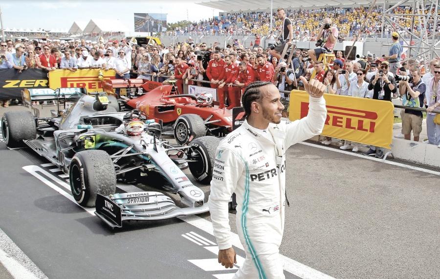 Hamilton se pone a 12 victorias del récord de triunfos de Schumacher