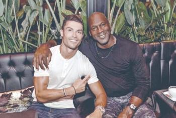Cristiano y Jordan se reunen en París