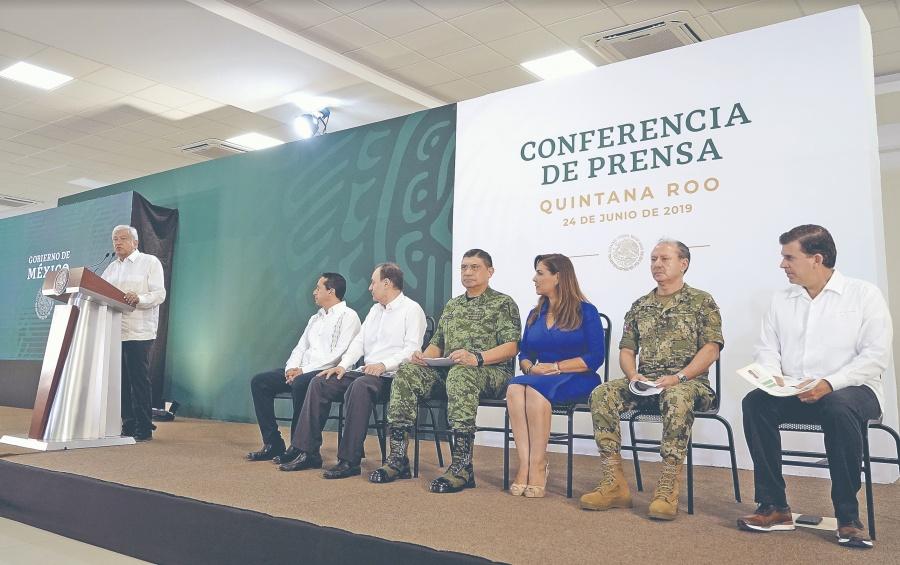 Guardia Nacional impide paso a migrantes con 15 mil elementos