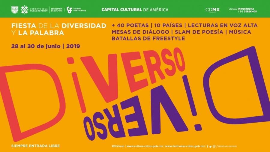No te pierdas la Fiesta de la Diversidad y la palabra