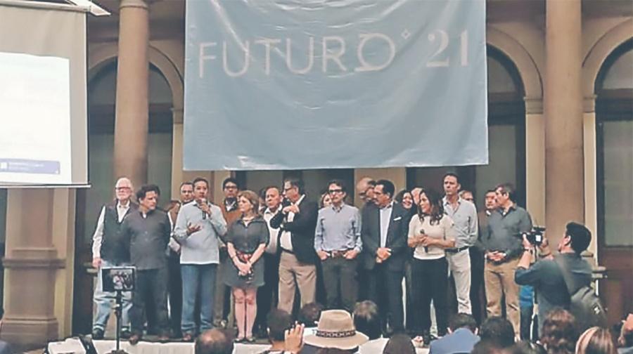 Nace Futuro 21 ante la falta de oposición