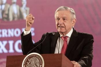 Critica López Obrador que no se hable de la recuperación de Pemex