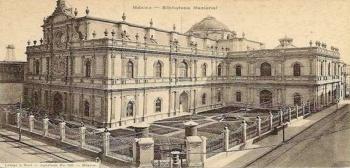 Descubren los cimientos religiosos de la antigua Biblioteca Nacional