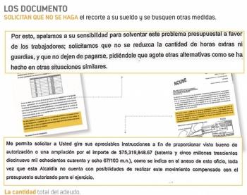 Empleados de la Cuauhtémoc reclaman pago de 75.3 mdp