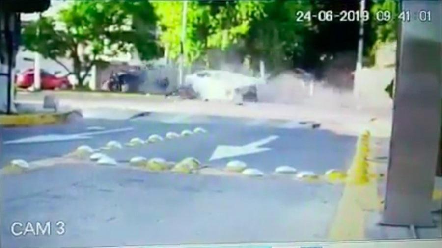 Se conoce nuevo video del choque de Joao Maleck
