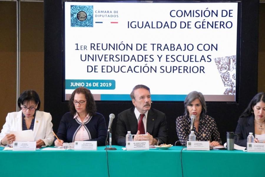 El IPN seguirá participando con el estado para servir a México: Mario Alberto Rodríguez