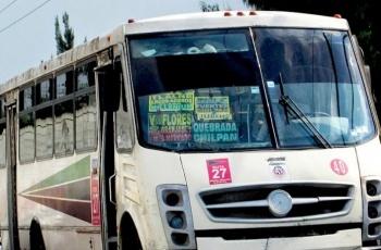 Robo en transporte público deja dos personas lesionadas en Naucalpan