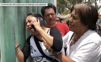 Muere niño tras balacera frente a primaria en Neza