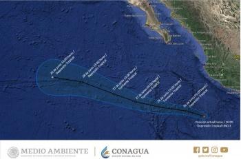 Se forma primer ciclón tropical en Pacífico
