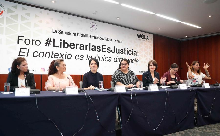 Busca senadora de Morena que más de 3 mil mujeres salgan de prisión