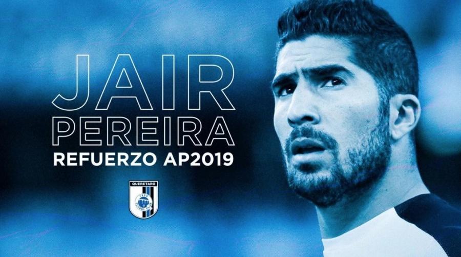 Oficial: Jair Pereira, nuevo jugador del Querétaro