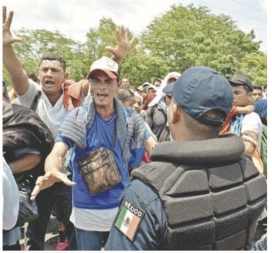 EU respalda a México por frenar migrantes