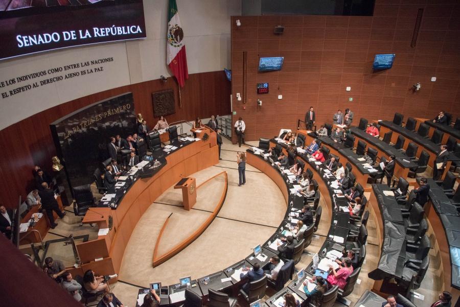 Aprueban en Comisiones del Senado, Ley de Extinción de Dominio