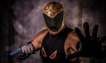 El luchador Tinieblas Jr agradece a Paulo Dybala haber usado su máscara