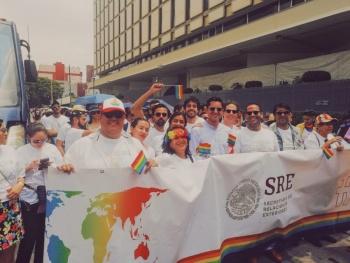Ebrard aplaude el trabajo de la SRE a favor de la comunidad LGBTTTI