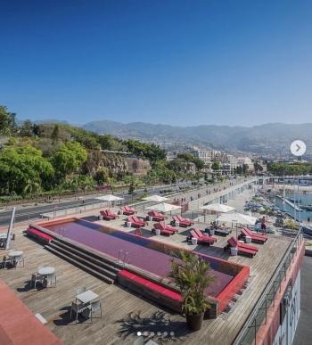 Presume CR7 su lujoso hotel en Madeira, Portugal