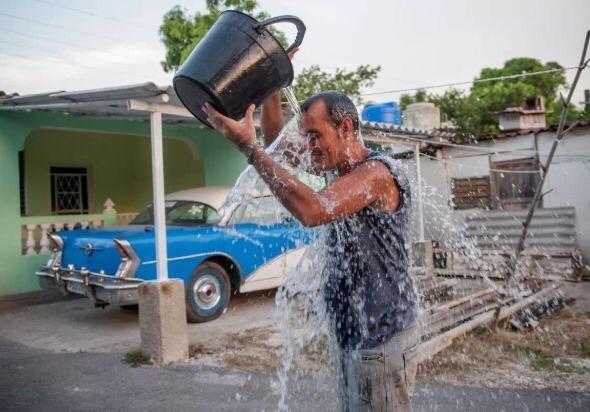 Cuba reporta altas temperaturas