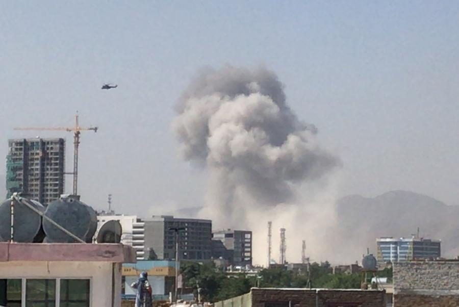 Atentado en Kabul deja 11 muertos y 65 heridos; Talibanes reclaman autoría