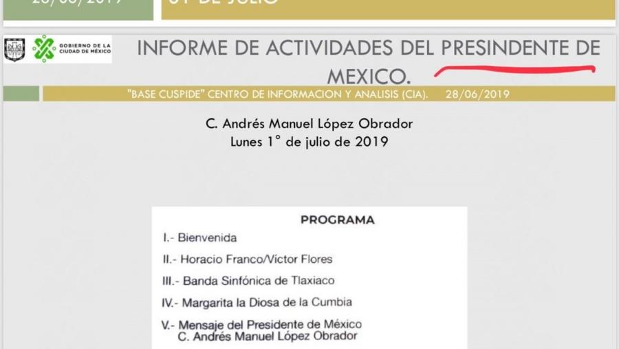 Desata polémica comunicado de CDMX con faltas de ortografía
