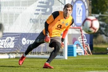 Iker Casillas vuelve a los entrenamientos con el Porto tras infarto