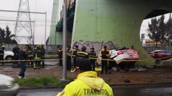 Mueren dos policías en un choque sobre Calzada Zaragoza