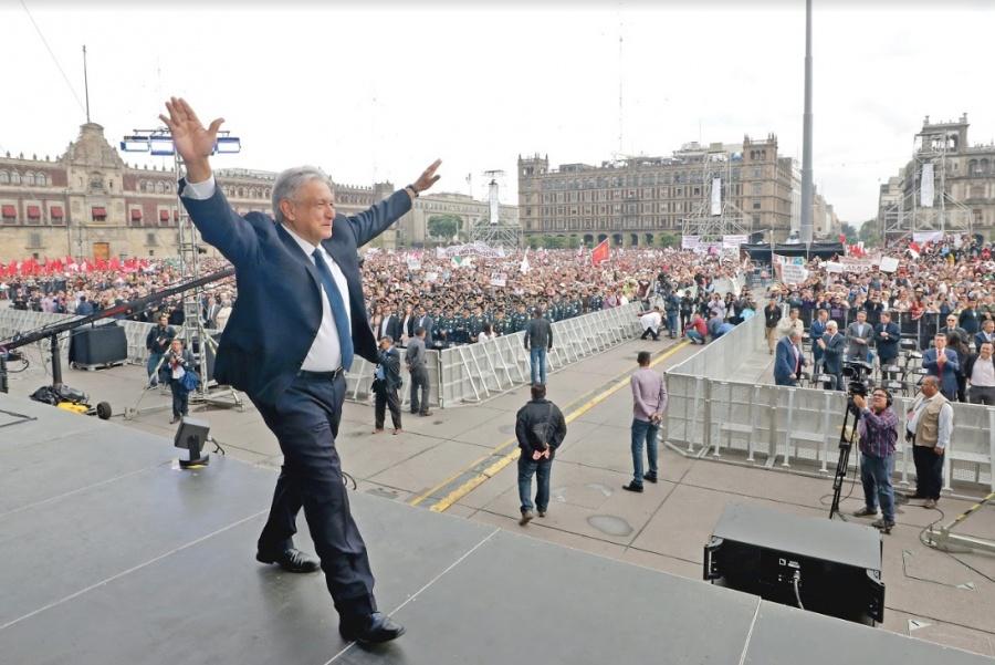 No luchamos por construir una dictadura, indica AMLO