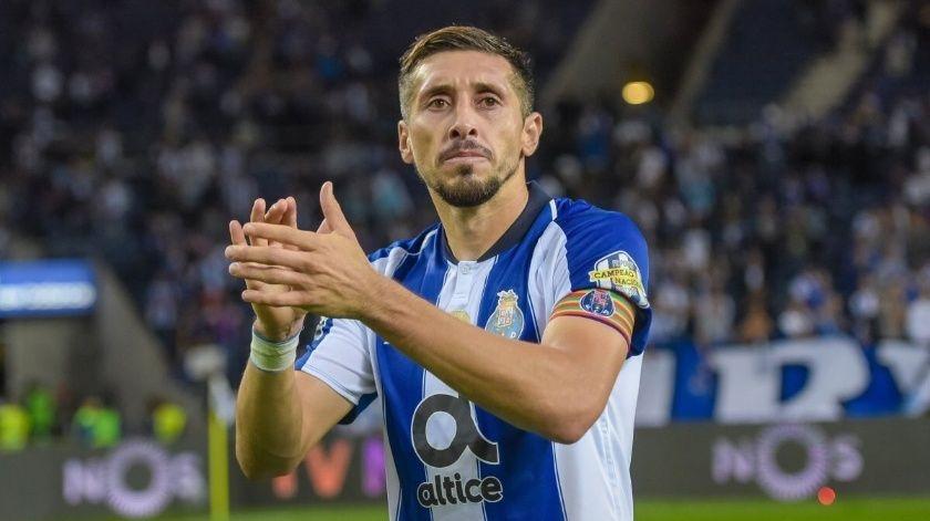 Se despide Héctor Herrera del Porto de Portugal