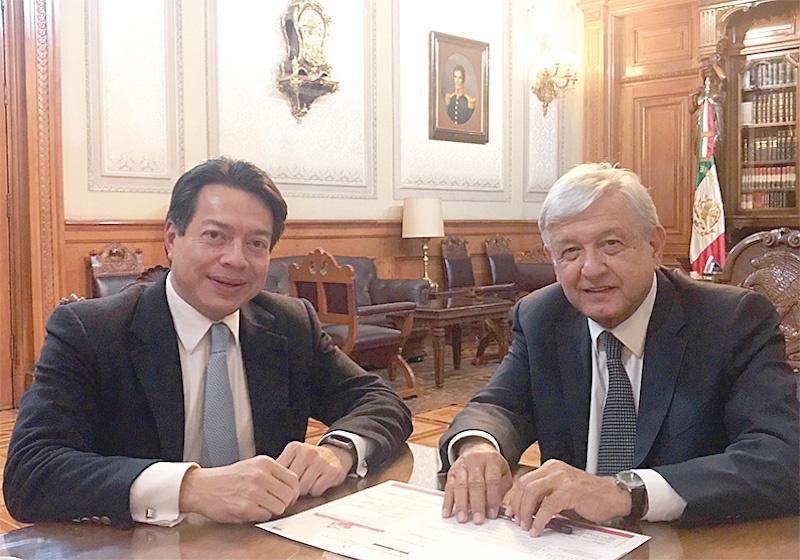 El Poder Legislativo ha realizado aportes positivos a los resultados de López Obrador: Mario Delgado