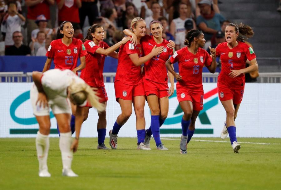 Estados Unidos elimina a Inglaterra y avanza a la final del Mundial Femenil