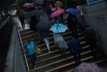 Activan Alerta Amarilla por lluvias en trece alcaldías