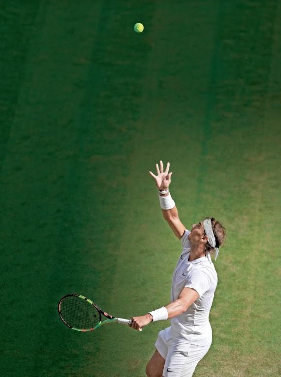 Sin jugar a tope, Rafael Nadal gana en su debut