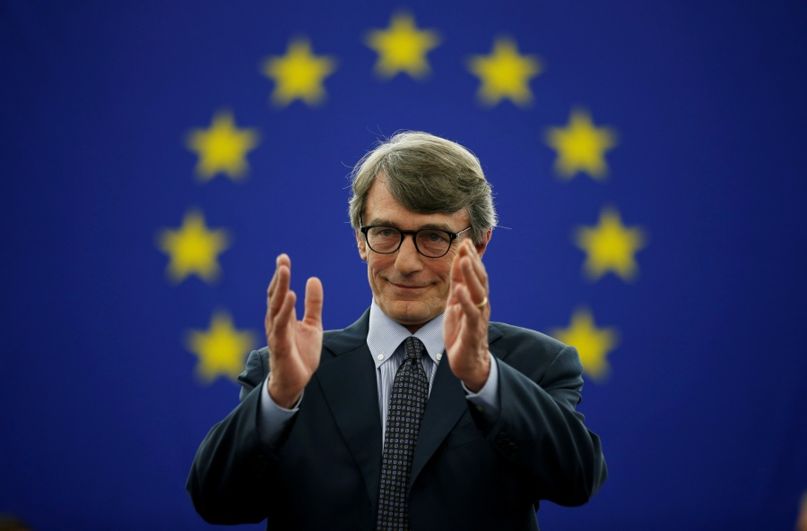David Sassoli, nuevo presidente de Parlamento Europeo
