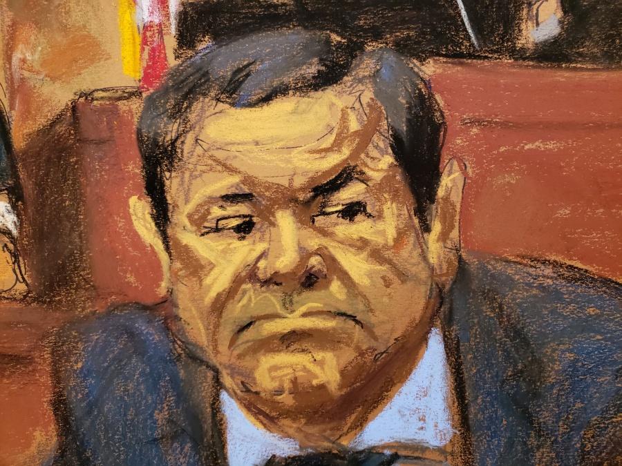 Juez rechaza repetir juicio contra 'El Chapo' Guzmán