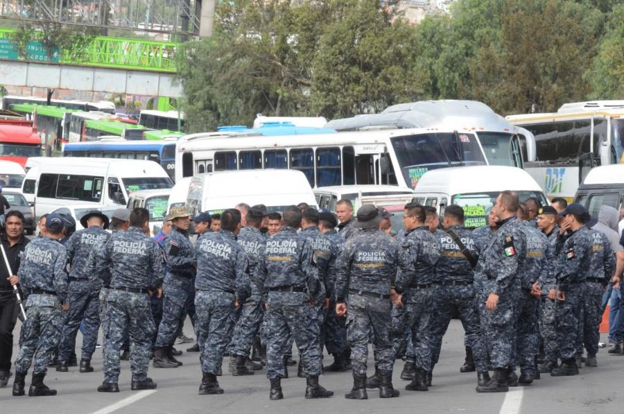 Policía Federal convocan a paro nacional