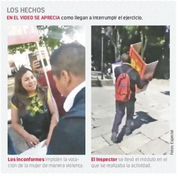 Chocan PT y Morena en Oaxaca por una consulta