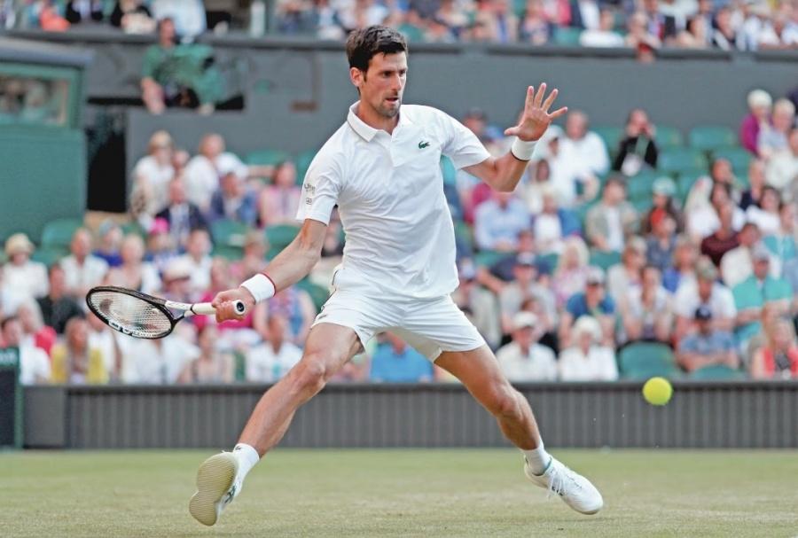 Djokovic entra sin presión a tercera fase de Londres
