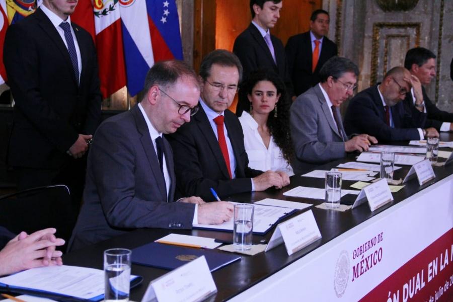 Trabajan SEP y gobierno de Alemania para impulsar educación dual en México