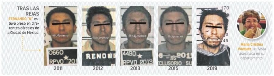 Caso activista: acusan de intento de homicidio a ladrón