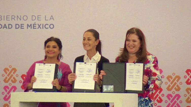 Firma el Gobierno de la Ciudad de México, el primer convenio de apoyo a unidades habitacionales de interés social con la alcaldía de Iztapalapa