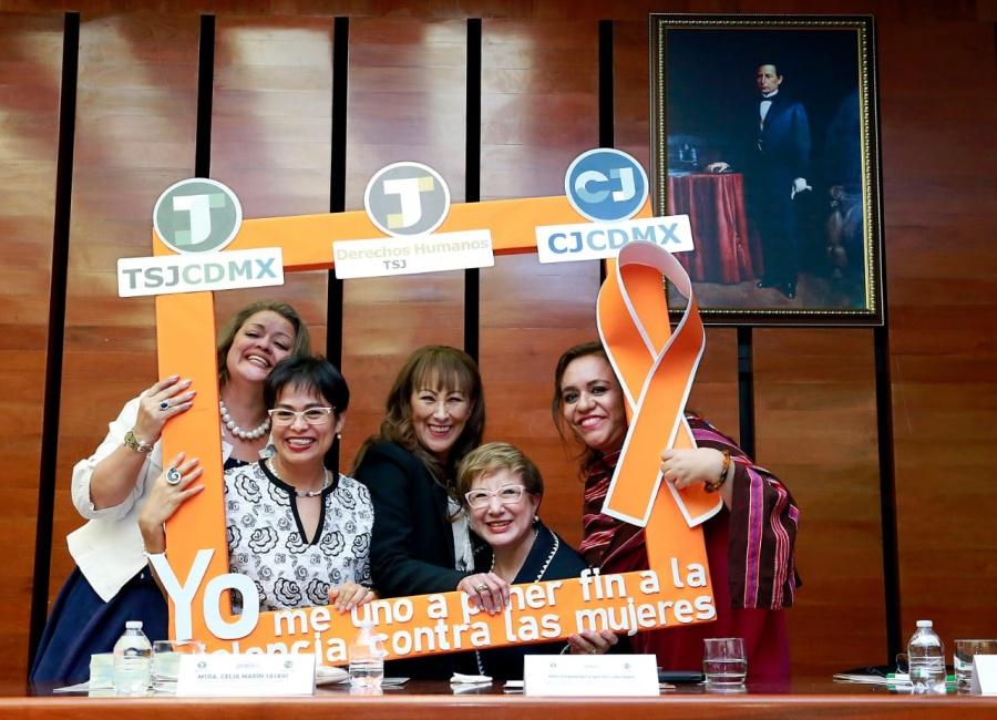 La justicia con perspectiva de género abate la discriminación y la violencia contra las mujeres: Peralta Hernández