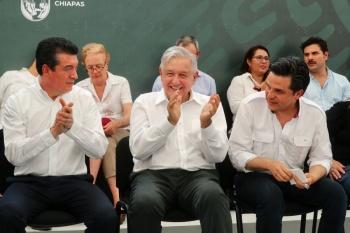 Se abstiene AMLO de comentar sobre dichos del expresidente Calderón sobre la PF