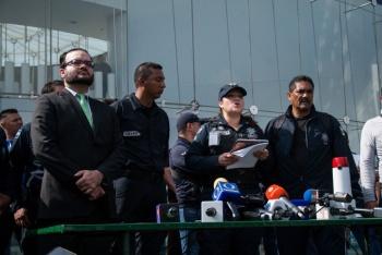 Policías federales piden diálogo con Durazo