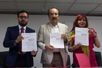 """Presentan alcaldes iniciativa de reforma de ley para sancionar de manera más severa a """"inmobiliarias rebeldes"""""""