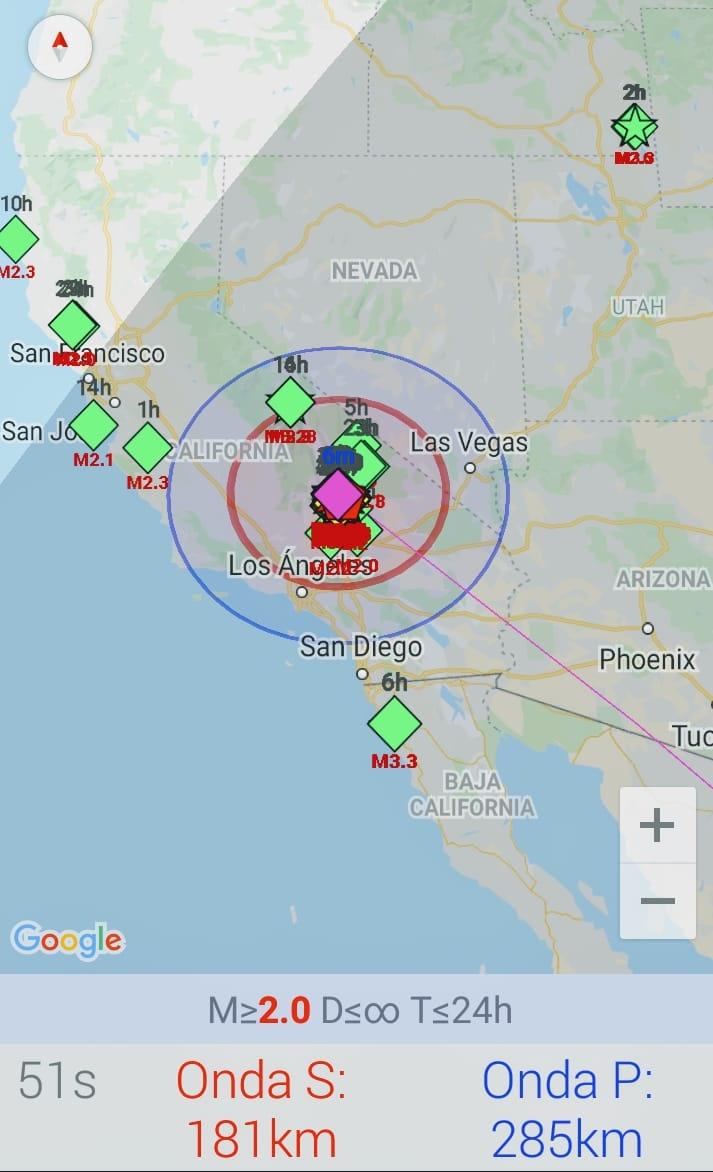 Sismo de 7.1 sacude al sur de California